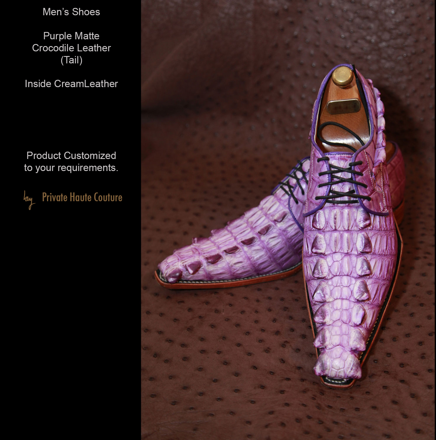 Men s shoes private haute couture for Haute couture shoes