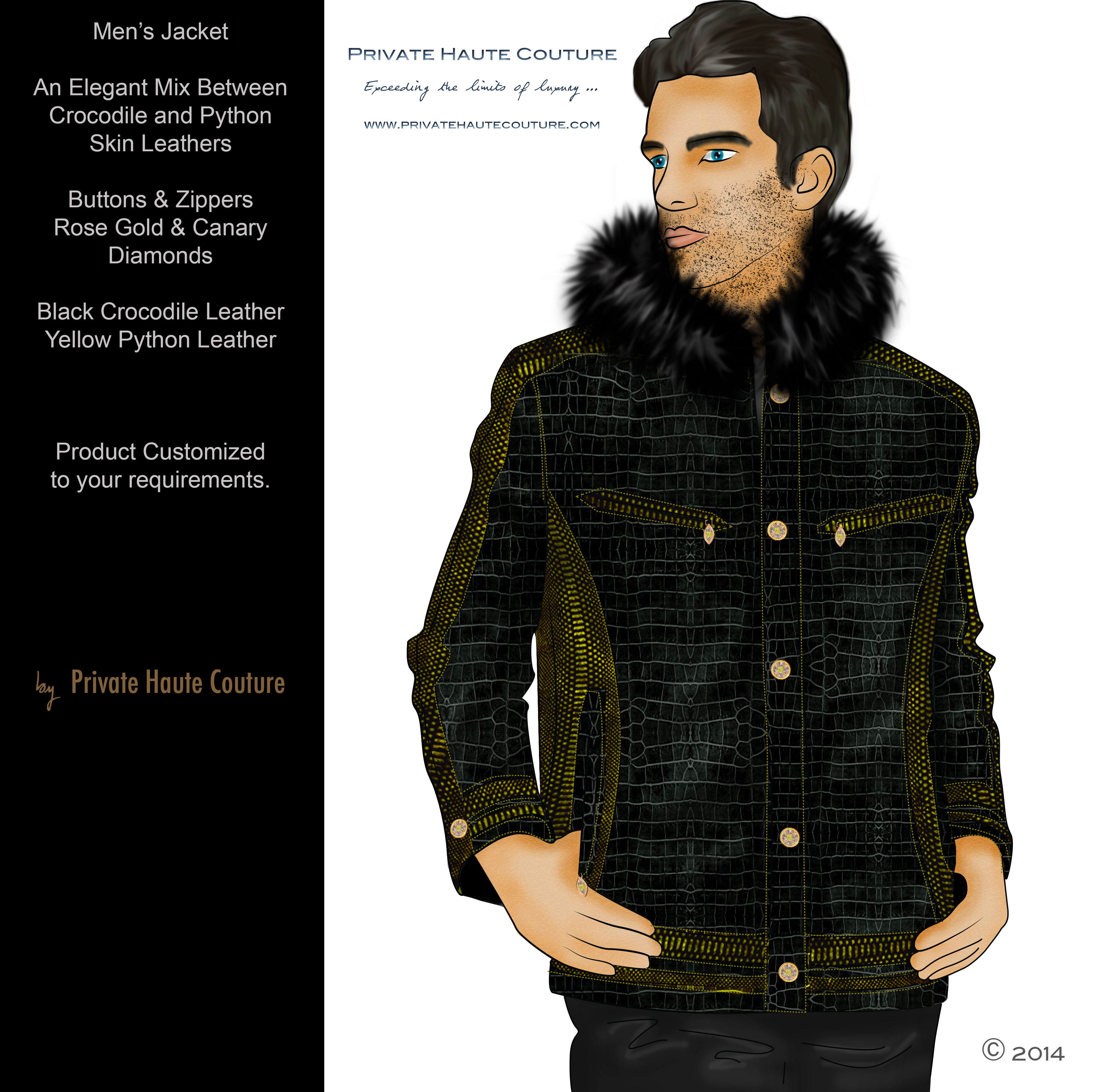 One million jacket private haute couture for Own the couture
